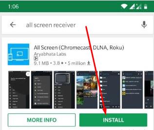 Install All Screen Mirroring CucoTV App