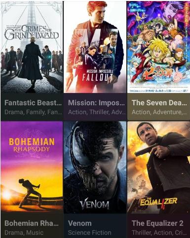 CucoTV App Movies & TV Shows