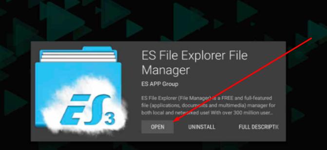 ES File Explorer - CucoTV App