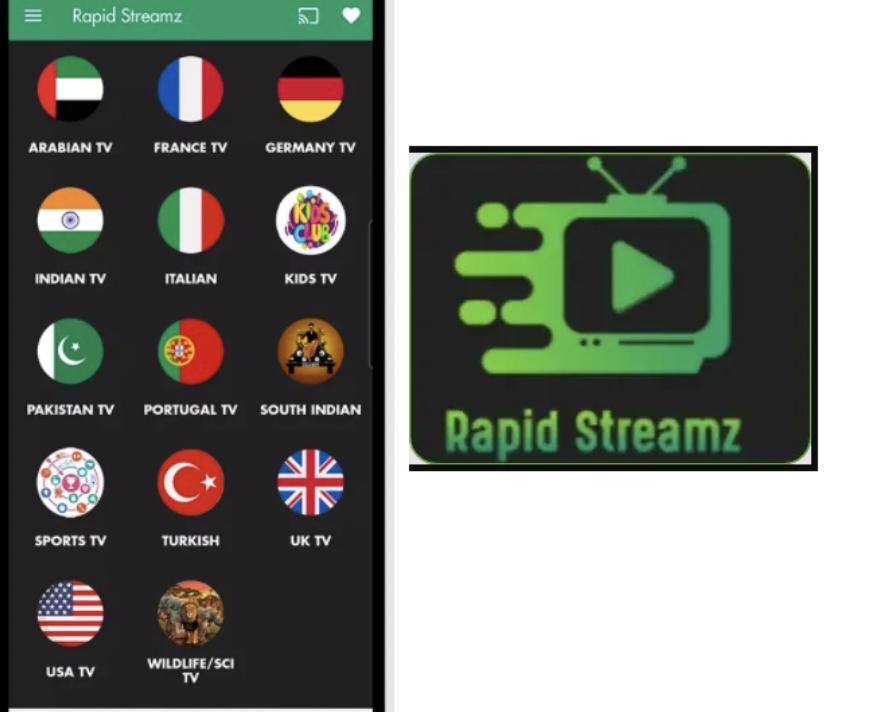 Rapid Streamz APK Free Download