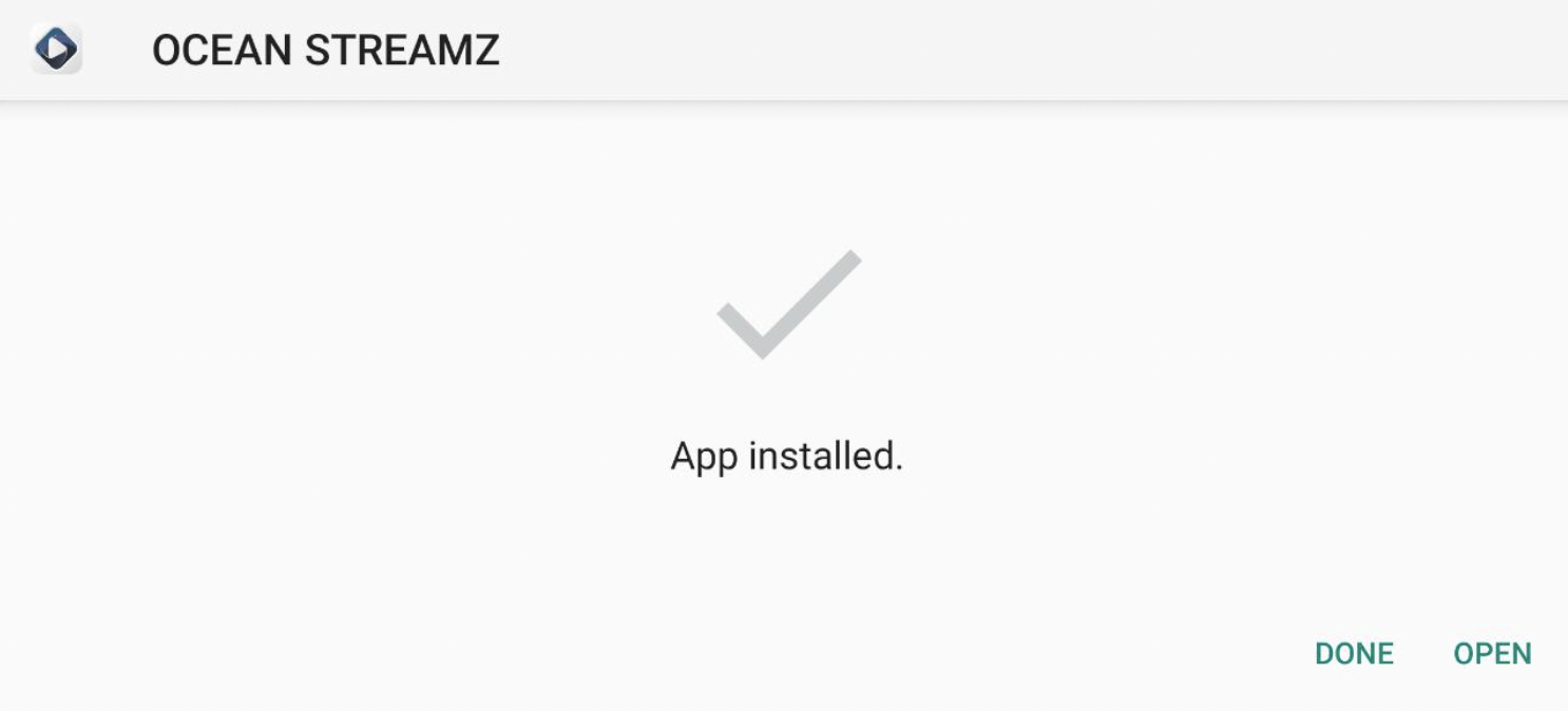 Ocean Streamz APK Installed on Windows PC Mac