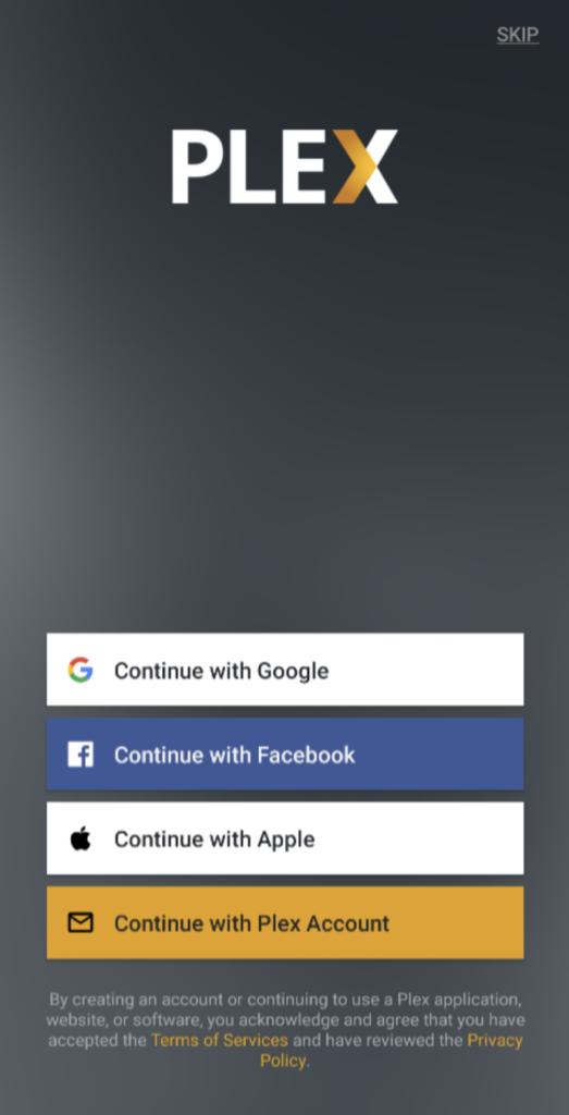 Sign In to Plex App - CucoTV APK